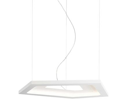 Carpyen Nura White 35'' Wide LED Pendant CRPNURA1