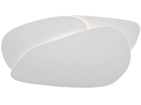 Carpyen Pedra White LED Wall Sconce CRPPEDRAWALL