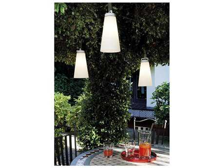 Carpyen Sasha White Outdoor Pendant Light