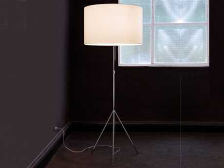 Carpyen Signora  Polished Chrome Floor Lamp