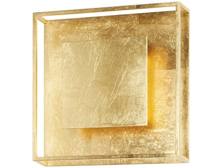 Carpyen Yoko Gold Leaf LED Wall Sconce CRPYOKOGOLDLEAF