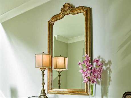 Carson Aria Burnished Silver / Venetian Gold Wall Mirror