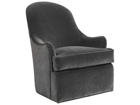 Carson Bohemian Swivel Accent Chair