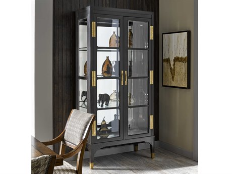 Carson Cadence Brown China Cabinet