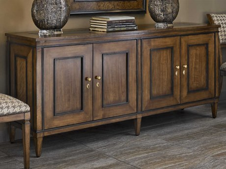 Carson Cadence Brown Polished Black Granite / Buffet