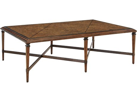 Carson Cadence Brown 60'' Wide Rectangular Coffee Table CARCCA01