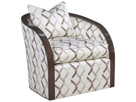 Carson Comet Swivel Accent Chair