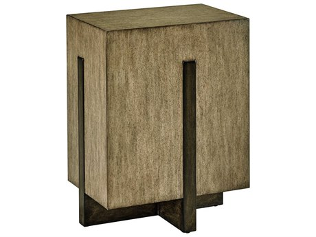 Carson Harmony Taupe / Grey 18'' Wide Rectangular End Table CARCHA301