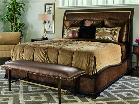 Carson Lyric Sleigh Bed CARCLY81