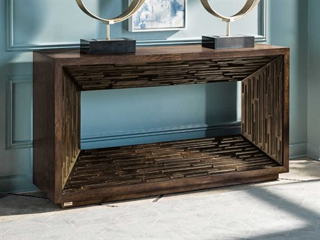 Carson Melody Brown 64'' Wide Rectangular Console Table CARCME06