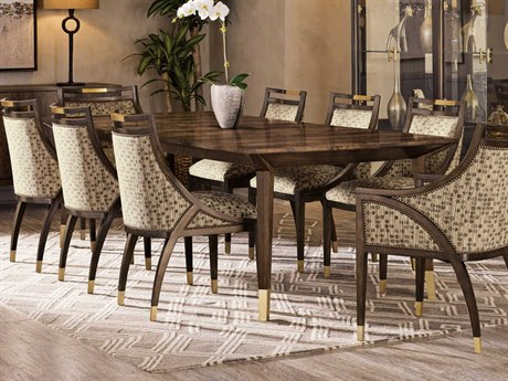 Carson Melody Brown 108'' Wide Rectangular Dining Table CARCME21