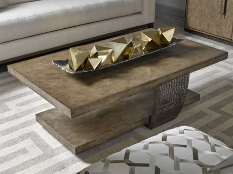 Carson Tempo Taupe 50'' Wide Rectangular Coffee Table