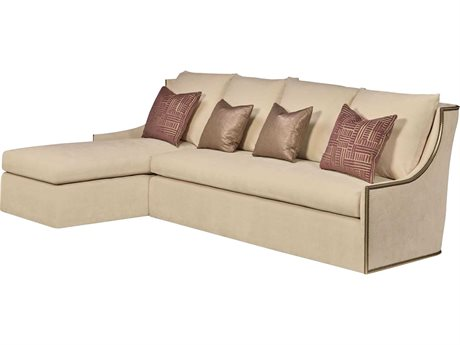 Carson Gallery Sectional Sofa with Left Arm Facing Chaise CARCGASEC1