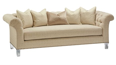 Carson Legacy Sofa with Lucite Leg CARCLE43LUCITE