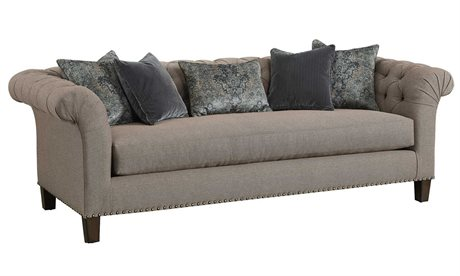 Carson Legacy Sofa with Lyric Leg CARCLE43WOOD