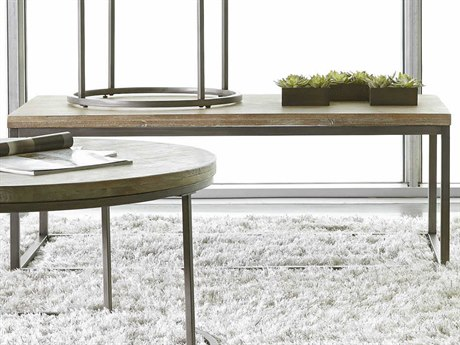 Palliser Case Goods Julien Natural / Weathered 48'' x 26'' Rectangular Coffee Table with Acacia Wood Top CX836055ACG