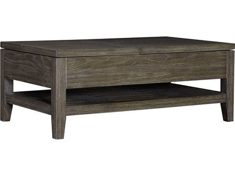 Palliser Case Goods Bravo Platinum Oak 46'' x 27'' Rectangular Cocktail Table with Lift Top CX237050