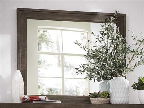 Casana Albany Platinum Oak Landscape 46'' x 38'' Dresser Mirror CX237401
