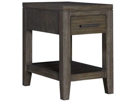 Palliser Case Goods Bravo Platinum Oak One-Drawer 16'' x 24'' Rectangular Chairside Table CX237022
