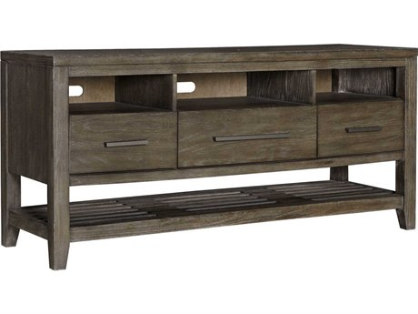 Palliser Case Goods Bravo Platinum Oak Three-Drawer 60'' x 19'' Entertainment Console CX237012