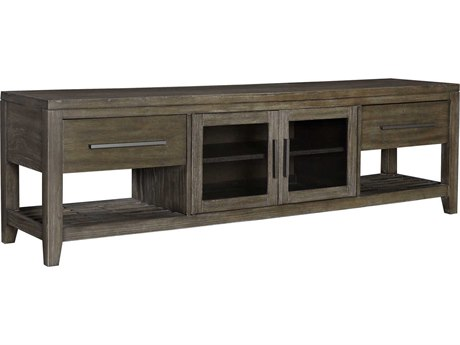 Palliser Case Goods Bravo Platinum Oak Two-Drawer / Two-Door 80'' x 19'' Entertainment Console CX237013