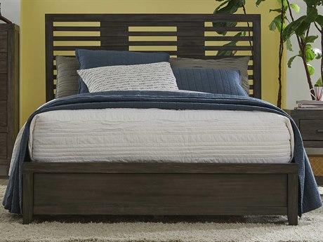 Palliser Case Goods Bravo Platinum Oak King Panel Bed