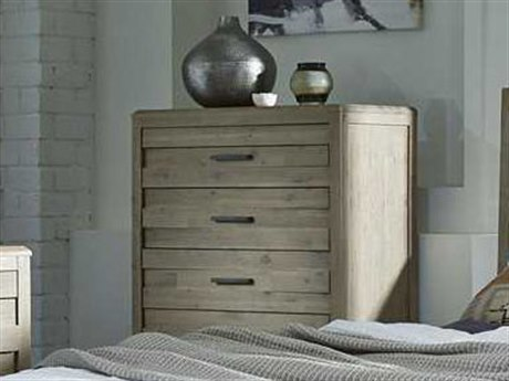 Casana Harbourside Weathered Acacia Six Drawer Chest