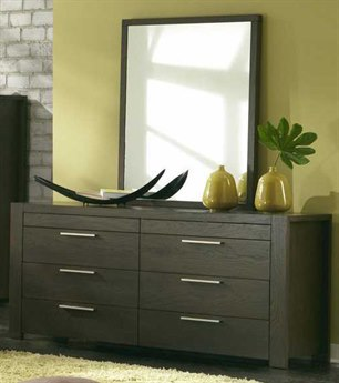 Palliser Case Goods Montreal Eight Drawer Dresser & Mirror Set