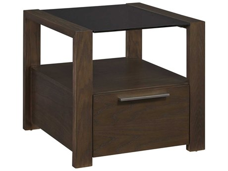 Palliser Case Goods Montreal Licorice 24'' Square End Table CX525020