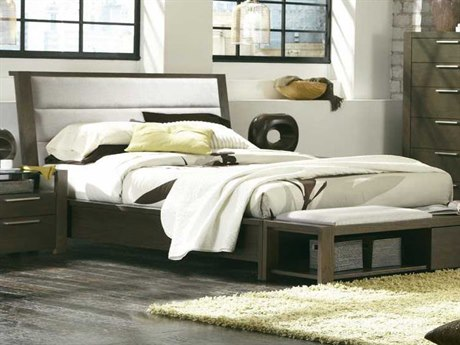 Palliser Case Goods Montreal King Upholstered Platform Bed