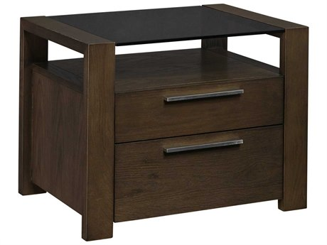 Palliser Case Goods Montreal 26'' x 19'' Rectangular Two Drawer Nightstand