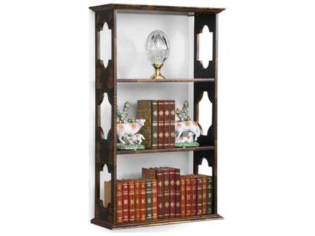 Chelsea House Newton Black And Gold Wall Shelf CH381064