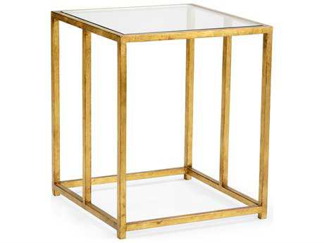 Chelsea House Alhers Antique Gold Leaf 18'' Wide Square End Table CH383238