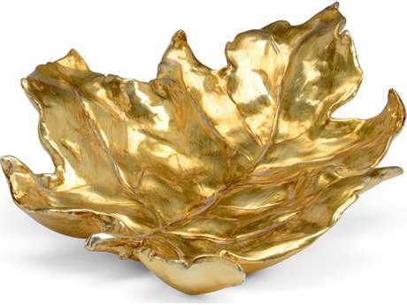 Chelsea House Antique Gold Leaf Tray