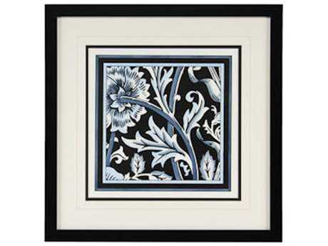 Chelsea House Blue & White Floral Motif IV Painting
