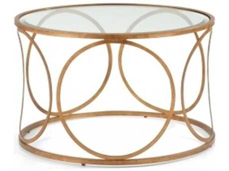 Chelsea House Donnelly Gold Coffee Table