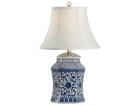 Chelsea House Dynasty Blue / White Vase Table Lamp CH69255