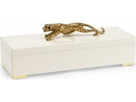 Chelsea House Cheetah Cream Jewelry Box CH382903