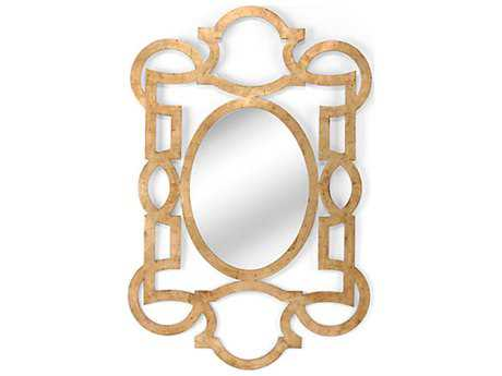 Chelsea House Lisa Kahn Tracery Mirror Gold Wall Mirror