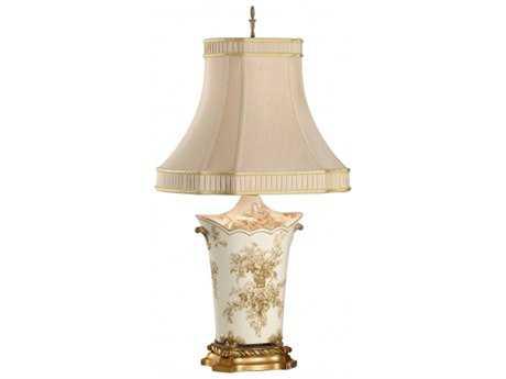 Chelsea House Toile Bouquet Table Lamp CH68087