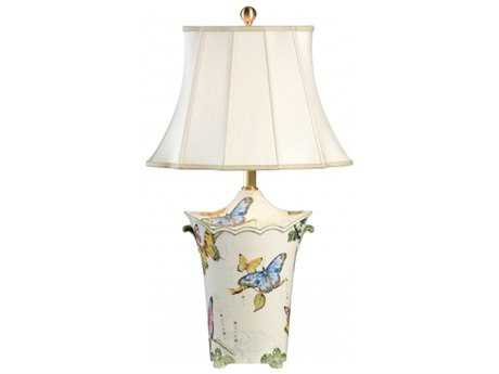 Chelsea House Butterfly Urn Table Lamp CH68828