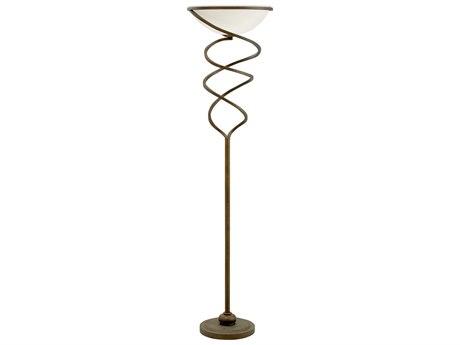 Chelsea House Vanderbilt Weathered Bronze Floor Lamp CH69302