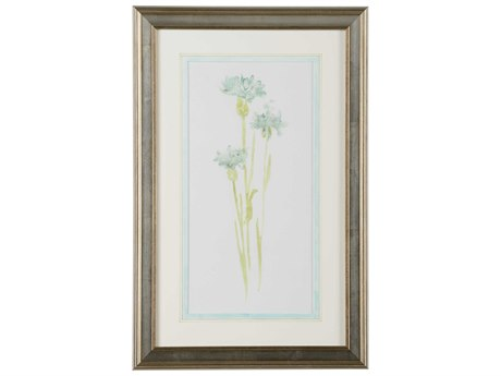 Chelsea House Corn Flower Study IV Wood Wall Art