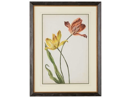 Chelsea House Two Tulips I Wood Wall Art