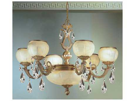 Classic Lighting Corporation Alexandria II Victorian Nine-Light 32 Wide Chandelier C869506VBZ