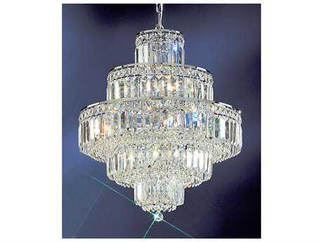 Classic Lighting Corporation Ambassador Chrome 12-Light 20'' Wide Chandelier C81601CHCP