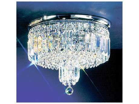 Classic Lighting Corporation Ambassador Four-Light Flush Mount Light C81621CHCP