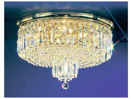 Classic Lighting Corporation Ambassador Seven-Light Flush Mount Light C81622GCP