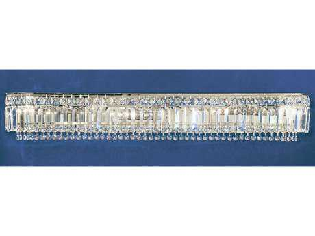 Classic Lighting Corporation Ambassador Eight-Light Vanity Light C81627CHCP