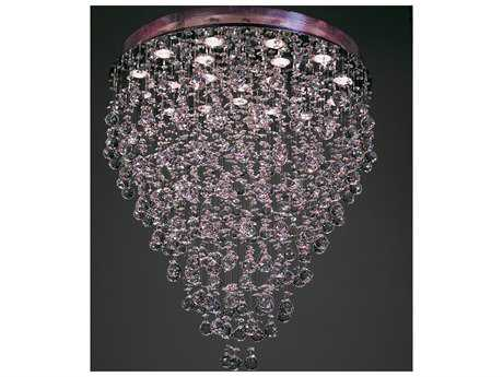 Classic Lighting Corporation Andromeda Chrome 22-Light Flush Mount Light C816022CHCP